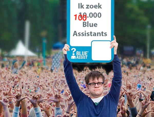 blue assist