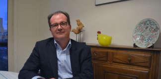 Dirk De Vries, voorzitter Open Vld Dendermonde