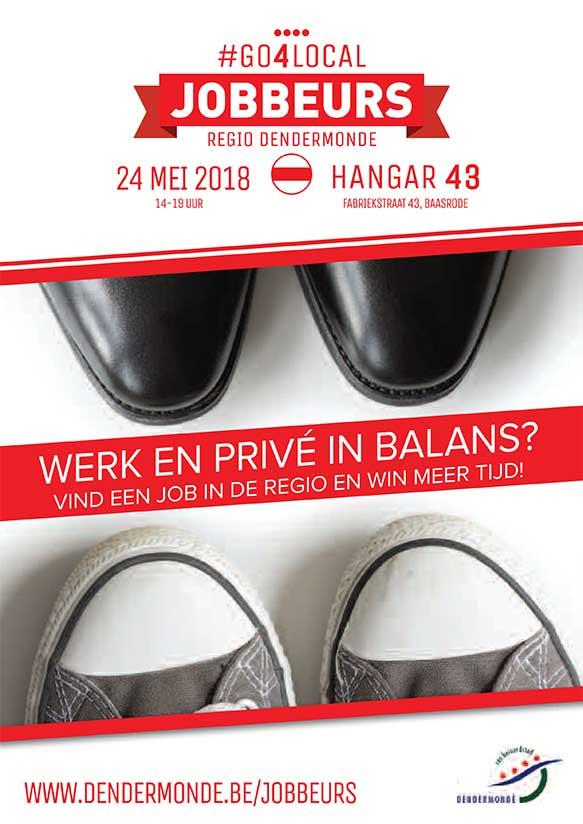 Jobbeurs Dendermonde op 24 mei 2018