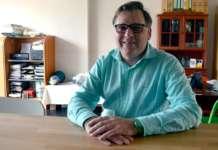 Michel Vandriessche is sinds juli 2013 voorzitter van Groen