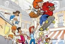 Nico De Braeckeleer publiceerde zijn eerste stripalbum in de reeks Sportsbende.