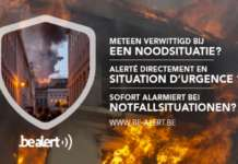 BE-alert is het nationaal alarmeringssysteem.
