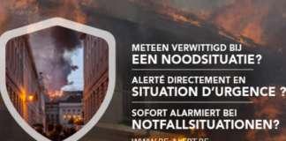BE-alert is het nationaal alarmeringssysteem.