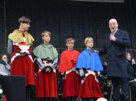 Vier Heemskinderen officieel aangesteld in Dendermonde